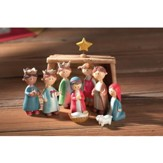 Children's Pageant Nativity Set 10 Pieces