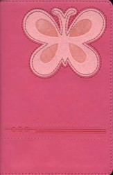 NLT Personal Compact Bible - Magenta/Pink TuTone™ Tutone magenta/pink - Slightly Imperfect