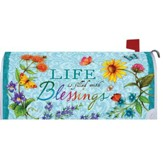 Life Is Filled With Blessings Mailbox Cover