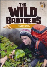 The Wild Brothers #4: Tiger Trail  DVD