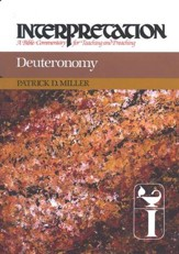 Deuteronomy: Interpretation: A Bible Commentary for Teaching and Preaching (Hardcover)