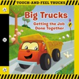 Big Trucks--Touch-and-Feel Book (slightly imperfect)