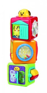 Stack N' Play Activity Blocks