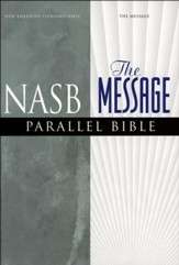 NASB & The Message Parallel Bible, Imitation Leather Burgundy