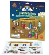 A Child Is Born Magnetic Playset