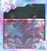 ICB Glitter Wings Compact Bible for Girls  - Slightly Imperfect