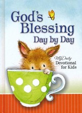 God's Blessing Day By Day: My Daily Devotional for Kids - Slightly Imperfect