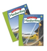 Zaner-Bloser Handwriting Grade 6:  Student & Teacher Editions (Homeschool Bundle -- 2016 Edition)