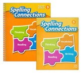 Zaner-Bloser Spelling Connections  Grade 5: Student & Teacher Editions (Homeschool Bundle -- 2016 Edition)