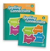 Zaner-Bloser Spelling Connections Grade 6: Student & Teacher Editions (Homeschool Bundle -- 2016 Edition)