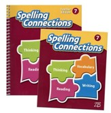 Zaner-Bloser Spelling Connections Grade 7: Student & Teacher Editions (Homeschool Bundle -- 2016 Edition)