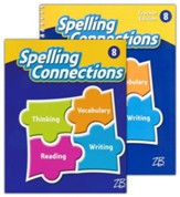 Zaner-Bloser Spelling Connections Grade 8: Student & Teacher Editions (Homeschool Bundle -- 2016 Edition)