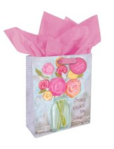 Grace Peace Joy Love Gift Bag, Small