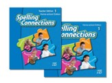 Zaner-Bloser Spelling Connections  Grade 1: Student & Teacher Editions (Homeschool Bundle)