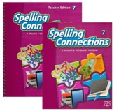 Zaner-Bloser Spelling Connections Grade 7: Student & Teacher Editions (Homeschool Bundle)