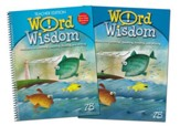 Zaner-Bloser Word Wisdom Grade 3: Student & Teacher Editions (Homeschool Bundle)