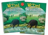 Zaner-Bloser Word Wisdom Grade 5: Student & Teacher Editions (Homeschool Bundle)