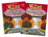 Zaner-Bloser Word Wisdom Grade 7: Student & Teacher Editions (Homeschool Bundle)