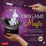 Origami Magic Kit: Amazing Paper Folding Tricks, Puzzles and Illusions