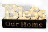 Bless Our Home Light Up Sign