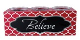 Believe Votive Holder