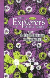 NKJV Explorer's Study Bible - Girls Purple Edition