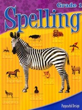 ACSI Spelling Grade 1 Student Book, Revised