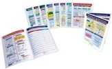 Math Visual Learning Guides Set,  Grade 5 (10 Different Guides)