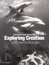 Exploring Creation with Marine Biology, Solutions & Test Book
