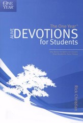 The One-Year Alive Devotions for Students