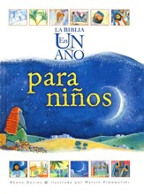 La Biblia en un Año para Niños  (The One Year Children's Bible) - Slightly Imperfect