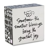 Smallest Blessing, Box Plaque