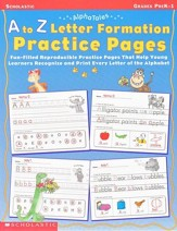 Alpha Tales: A To Z Letter Formation  Practice Pages