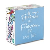 Friends Are Flowers, Box Plaque