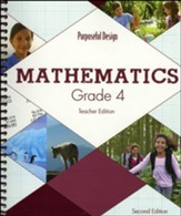 ACSI Math Teacher's Edition, Grade 4 (2nd Edition)