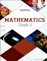 ACSI Math Student Textbook, Grade 5 (2nd Edition)