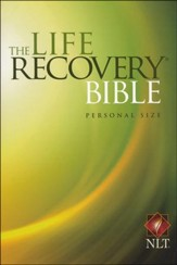 NLT Personal Size Life Recovery Bible - softcover ed. - Imperfectly Imprinted Bibles