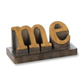 Me Word Sculpture