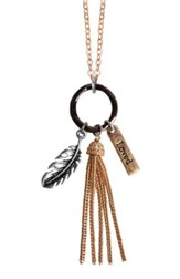 Feathers, Loved Necklace