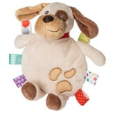 Crinkle Me Buddy Dog Cookie Taggie
