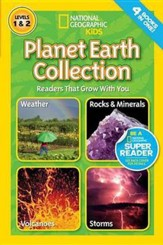 National Geographic Readers: Planet Earth Collection: Readers That Grow With You