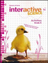 Pearson Interactive Science Grade K Activities