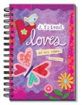 A Friend Loves, Spiral Bound Journal