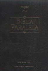 Biblia Paralela RVR 1960/NVI, Piel Imitada Negra (Parallel Bible, Imit. Leather Black)