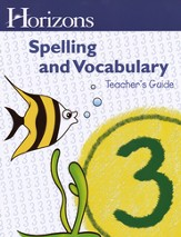 Horizons Spelling & Vocabulary Grade 3 Complete Set