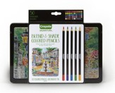 Crayola, Blend & Shade Colored Pencils with Tin, 50 Pieces