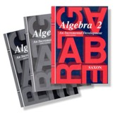Saxon Algebra 2 Homeschool Kit, Third Edition