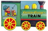 Curious George's Train (mini movers shaped board books)