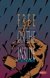 NKJV Free on the Inside Bible For Prision Ministry Softcover