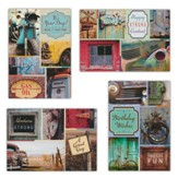 Wonderfully Vintage Birthday Cards, Box of 12